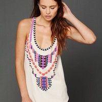 Free People Mara Hoffman Beaded Tank