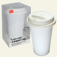 I Am Not A Paper Cup – Thermal Porcelain Mug