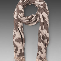 Pendleton The Portland Collection Fringed Scarf in Ram's Horn Natural from REVOLVEclothing.com
