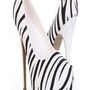 Zebra Smooth Finish Pump Heels @ Amiclubwear Heel Shoes online store sales:Stiletto Heel Shoes,High Heel Pumps,Womens High Heel Shoes,Prom Shoes,Summer Shoes,Spring Shoes,Spool Heel,Womens Dress Shoes,Prom Heels,Prom Pumps,High Heel Sandals,Cheap Dress Sh