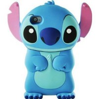 Amazon.com: Disney 3d Stitch Movable Ear Flip Hard Case Cover for Iphone 4/4s Xmas gift: Cell Phones &amp; Accessories