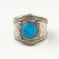 Free People Clothing Boutique > Round Stone Vintage Cuff