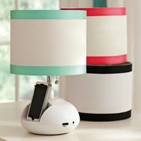 Tune-In Lamp Base + Ribbon Shade