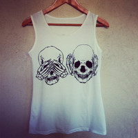 3 Skulls 3 styles Top