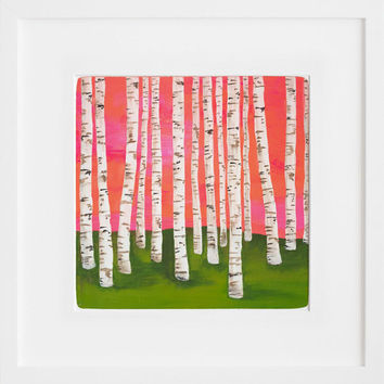 20x200 | Birch Forest No. 7, by Lisa Congdon