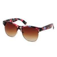 Flirty Floral Half-Frame Shades: Charlotte Russe