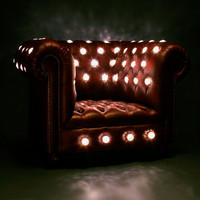 LED Club Chair