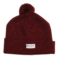 HYPE. Clothing — HYPE.FLECK BOBBLE (BURGUNDY)