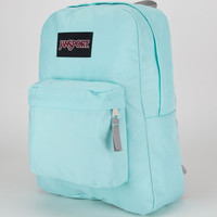 Jansport Black Label Superbreak Backpack Aqua Dash One Size For