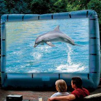 Inflatable Movie Screen | Electronics & Gadgets | SkyMall