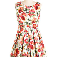 Demure and Simple Dress | Mod Retro Vintage Dresses | ModCloth.com