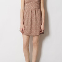Paisley Lace Corset Tunic - Dresses - Clothing - Topshop USA