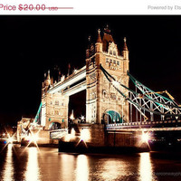 30 off CLEARANCE SALE Tower Bridge London by HConwayPhotography