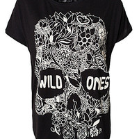 Wild Ones Skull Tee, Mad Love