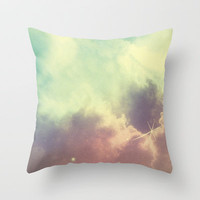 Nebula 3 Throw Pillow by ThoughtCloud | Society6
