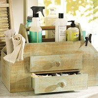 Vintage Cleaning Caddy | Pottery Barn