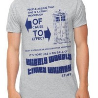 Amazon.com: Doctor Who Timey Wimey T-Shirt: Clothing