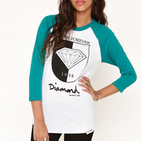 Diamond Supply Co Crest Raglan Tee at PacSun.com