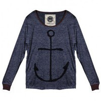 Anchors Away Long Sleeve Top by Youreyeslie.com Online store> Shop the collection