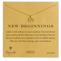 Women's Dogeared 'Reminder - New Beginnings' Boxed Pendant Necklace