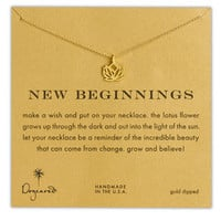 Dogeared 'Reminder - New Beginnings' Pendant Necklace | Nordstrom