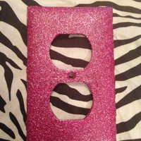 Beautiful & glitterized single outlet, light switch and rocker switch covers