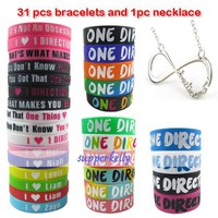 31Pcs ONE DIRECTION BRAC...