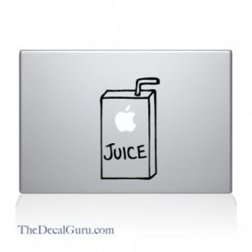Apple Juice Macbook Decal | Macbook Vinyl Decals | The Decal Guru