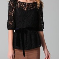 Juicy Couture Lottie Lace Top
