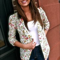 Floral Blazer | The Rage