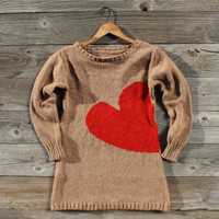 Threaded Hearts Sweater