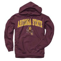 Amazon.com: Arizona State Sun Devils Maroon Perennial II Hooded Sweatshirt: Sports & Outdoors