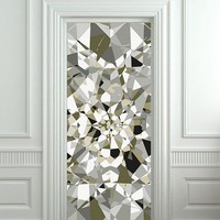 Door cover STICKER poster diamond rhinestone crystal film 30x79&amp;quot;