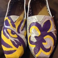 Custom LSU Gameday Shoes (TOMS)