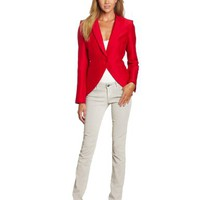 BCBGMAXAZRIA Women's Noah Structured Fit Tail Coat