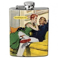 Breathalyze Me Hip Flask