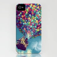 Up Hard Iphone 4/4S case FREE Shipping Worldwide by TICKandPICK
