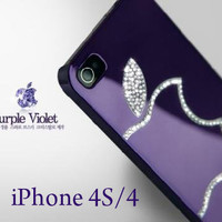 Purple violet Luxury Dia...