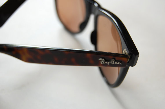 Tortoise Shell Ray Ban Wayfarer II Sunglasses by KidandKedzie