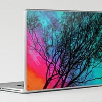 Behind The ol' Crape Myrtle Laptop & iPad Skin by Ben Geiger | Society6