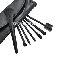 NEW Makeup 7 pcs Brush Cosmetic Brushes Set Kits With Case SA88