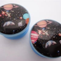 Solar System Plugs (2 gauge - 1 inch)