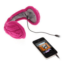 Knitted Headphone Earmuffs - buy at Firebox.com