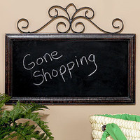 Chalkboard Wall Plaque | Wall Art and Decor| Home Decor | World Market