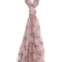 Hummingbird Scarf - View All - Accessories - Miss Selfridge US