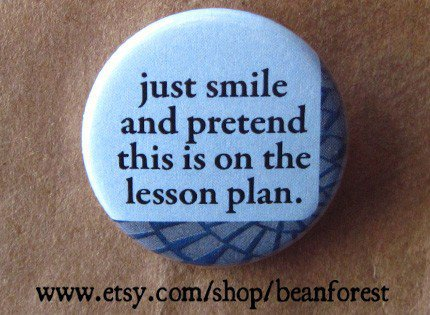 pretend this is on the lesson plan by beanforest on Etsy