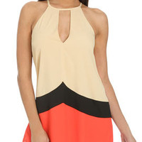 Keyhole Colorblock Tunic | Shop Tops at Arden B