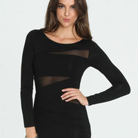 Banded Mesh Tunic | Shop Tops at Arden B