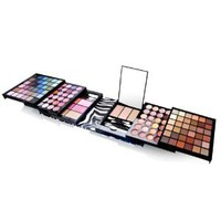 Shany 129 colors bold traveller size eye shadow and blusher make-up gift set kit