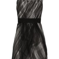 Lela Rose One-shoulder tulle and silk-blend dress - 70% Off Now at THE OUTNET